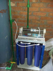 Durch diese Anlage gibt es gesundes Trinkwasser für die Schüler