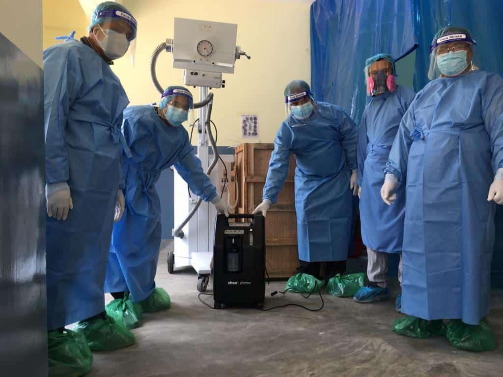 Die mobilen Sauerstoff-Konzentratoren zur schnellen Hilfe